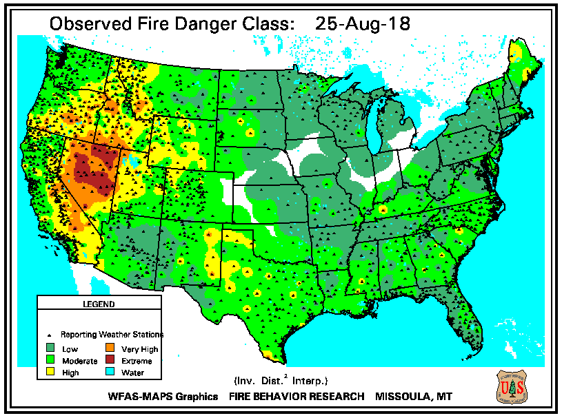 Indian Trail Weather Usfs Wildland Fire Assessment System Maps