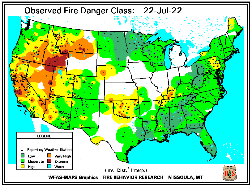 National Fire Danger