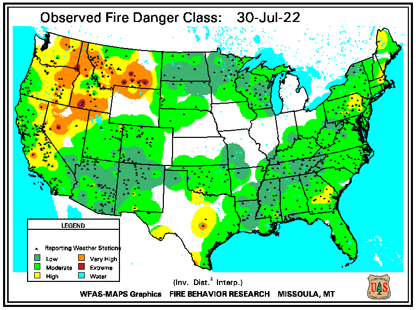 Observed Fire Danger Class