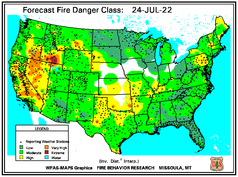Fire Danger Forecast