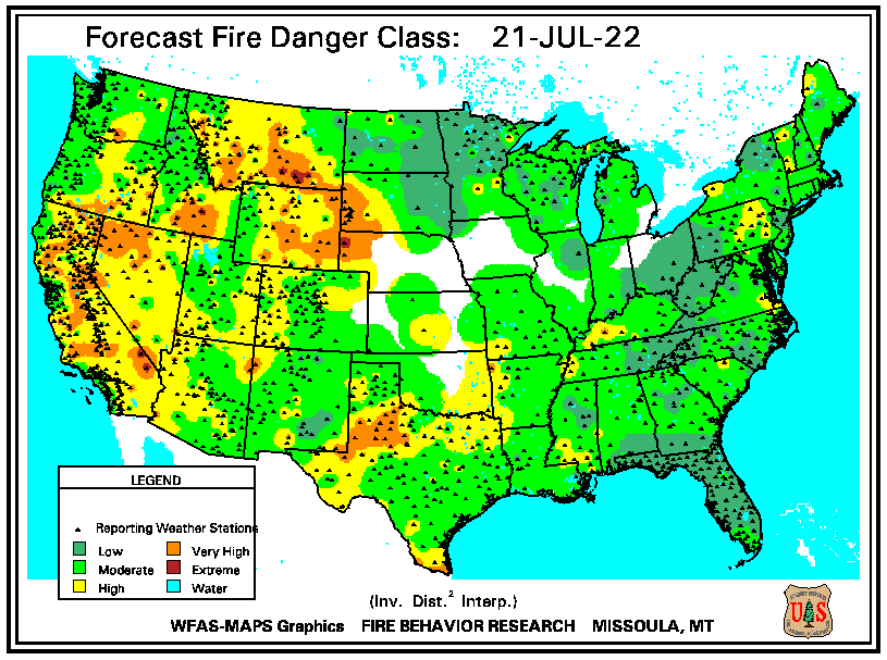 Forecast Fire Danger