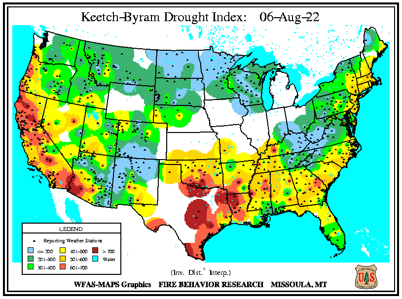 Keetch-Byram Drought