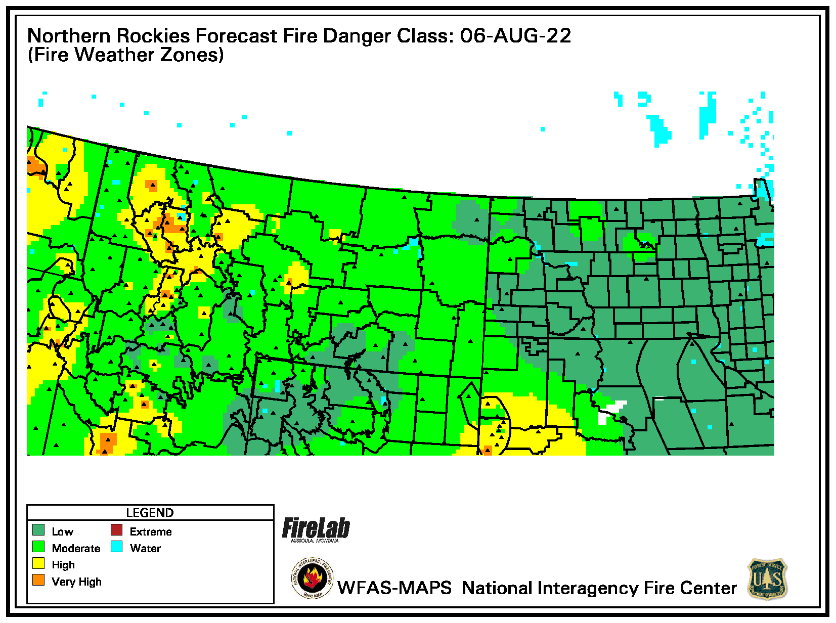 Current Fire Danger