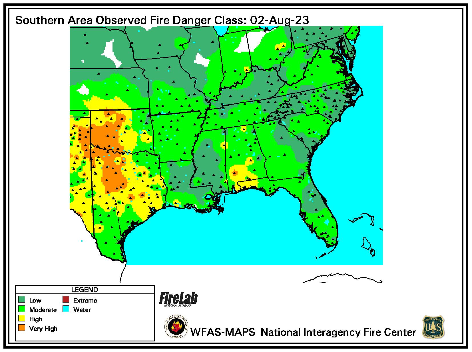 Current Fire Danger