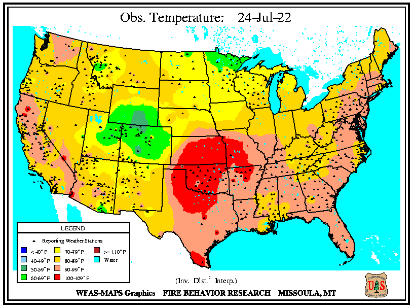 National Observed Temperatures