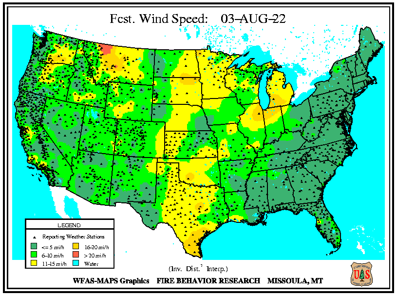 Forcast Wind Speed